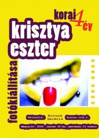 Krisztya Eszter plakát